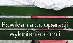 okładka poradnika o powikłaniach po operacji wyłonienia stomii