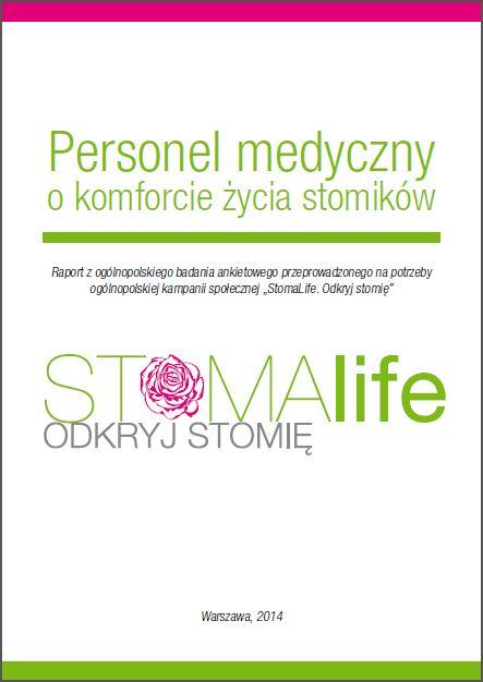 Personel medyczny o komforcie życia stomików