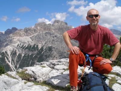 alpinista ze stomią