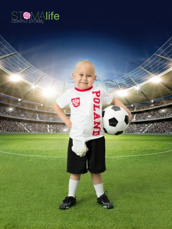 piłkarz ze stomią
