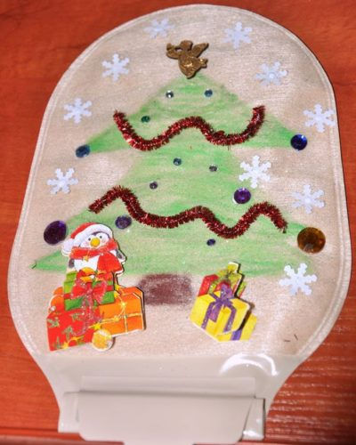 świąteczny worek stomijny projekt 1